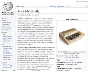 Atari 8 bit Wikipedia