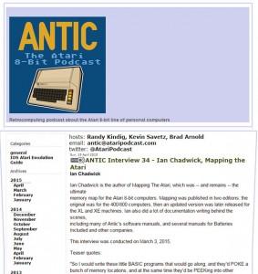 Antic, the Atari 8-bit Podcast