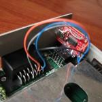 Modificando un XE con SIO2USB interno allá por Julio de 2010.